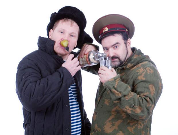 Русский мужик на западе не котируется !