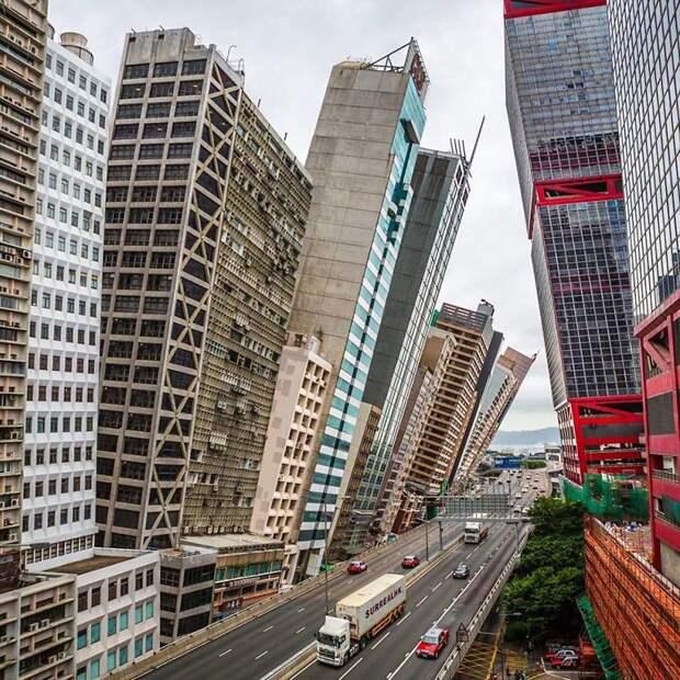 Этот художник в своих сюрреалистических фотографиях показывает Гонконг таким, каким его знают немногие