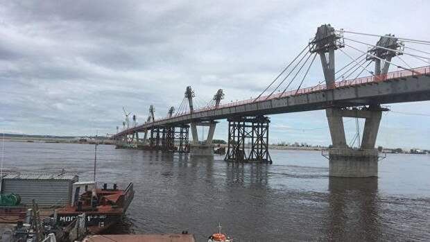 Мост «Красного Дракона»: переправу через Амур завершат в следующем году