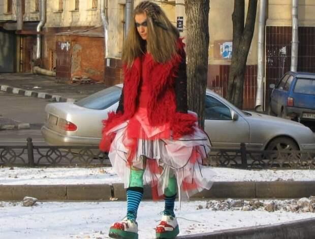 Все образы Линды были экстравагантными и шокирующими | Фото: muslib.ru