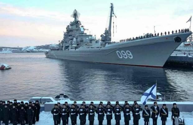 Северный флот приравняли к военным округам