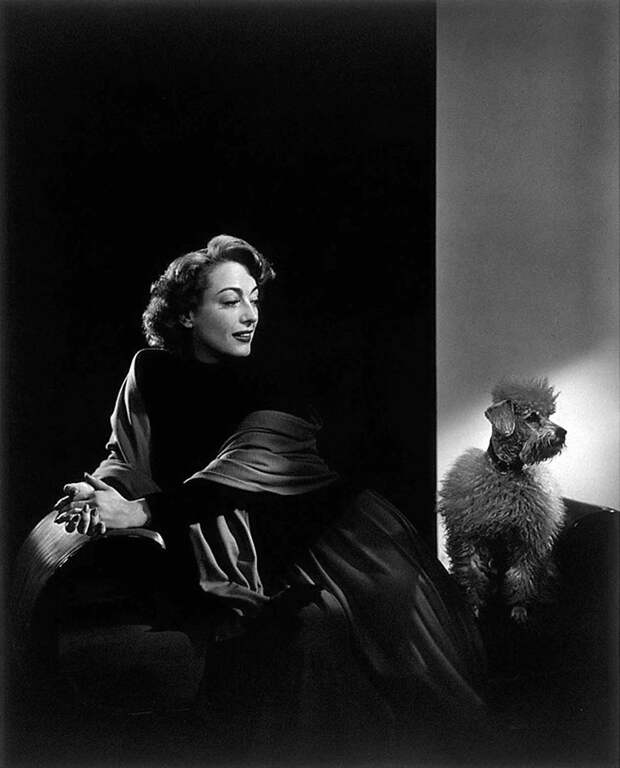 Joan Crawford by Yousuf Karsh