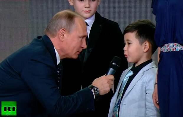 Объясню на пальцах: Наконец-то я понял смысл загадки, которую Путин загадал вундеркинду 5 лет назад