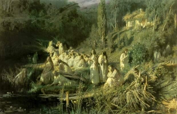 Русальная неделя: почему славяне провожали русалок и водили хороводы?