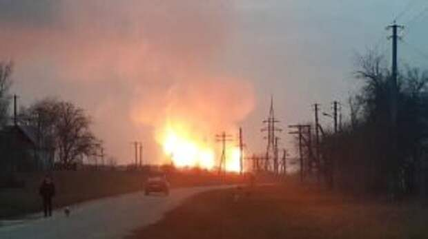 В Полтавской области прогремел взрыв на газопроводе