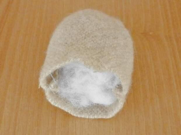Бабуля из ткани
