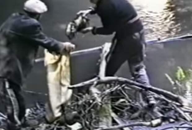 Части тел жертв Александра Спесивцева извлекают из воды