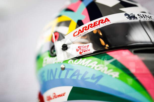 Джовинацци показал новый дизайн шлема для гонки в Имоле