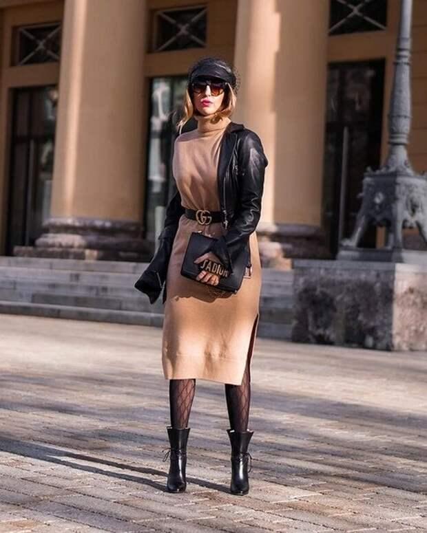 Как сочетать платье с верхней одеждой, чтобы выглядеть стильно: проверенные приемы, которые работают
