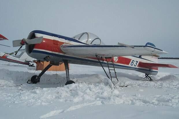 Спортивный самолет ЯК-55М