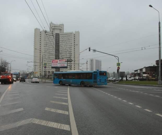 В Западном Дегунине появился новый маршрут электробуса