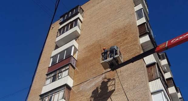 В Северном до августа промоют фасады 59 домов Фото из архива редакции