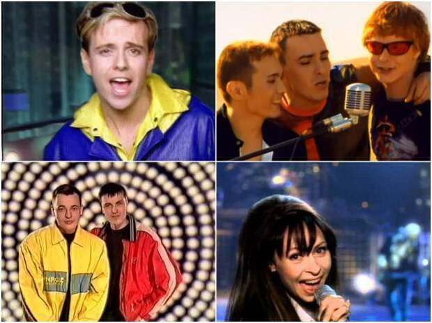 Российские клипы звезд 90-х