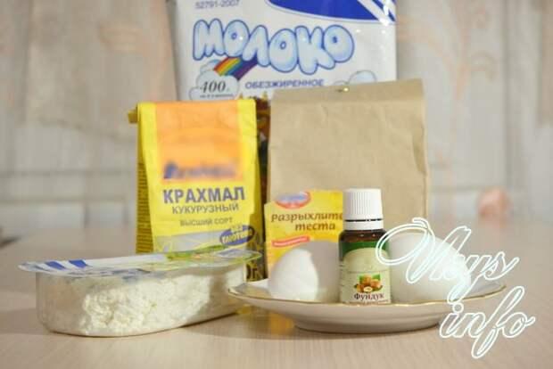 Диетический кулич без дрожжей, пшеничной муки и сахара фото ингредиенты