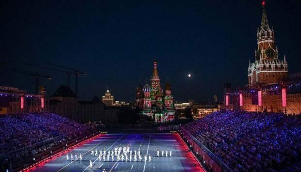 Собянин открыл фестиваль военных оркестров «Спасская башня»/Фото: mos.ru