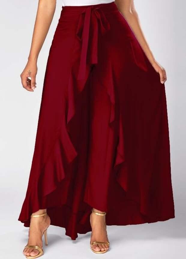 Эталон женственности, изящества и свободы: юбки палаццо на все случаи жизни