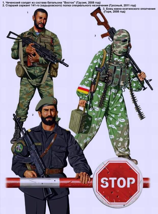 Воинские формирования из числа жителей северокавказских республик