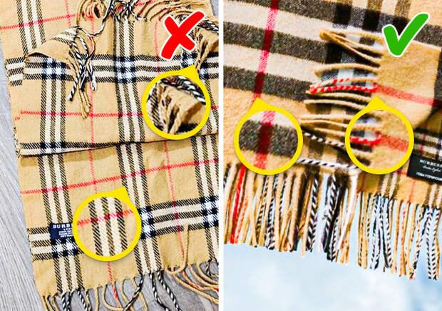 Эти секреты знают только специалисты: как отличить 10 настоящих брендовых вещей от подделок