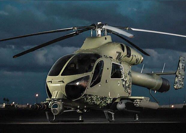 Крыло поможет MD Helicopters превратить обычный вертолет в скоростной