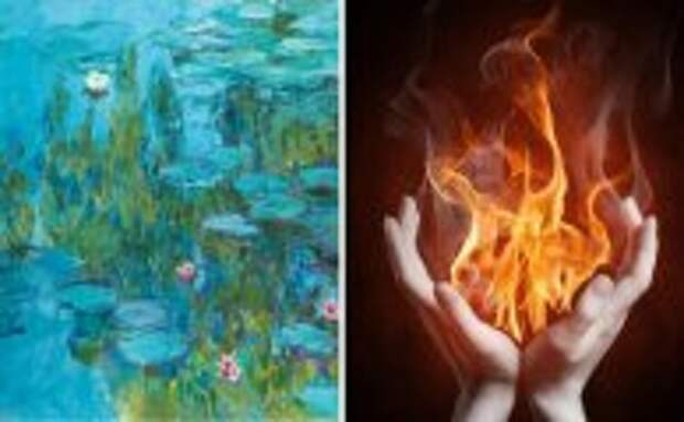 Блог Юрия Хворостова: Почему считается, что картина «Водяные лилии» Клода Моне приносит несчастье своим владельцам