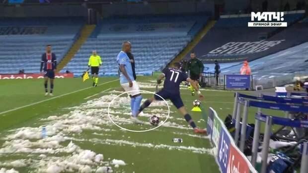 «Манчестер Сити»— «ПСЖ»: Кайперс ошибся спенальти, ноправильно удалил ДиМарию