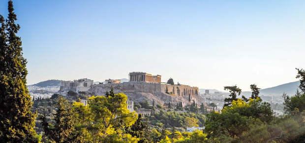 Циклон «Медея» засыпал Афины снегом