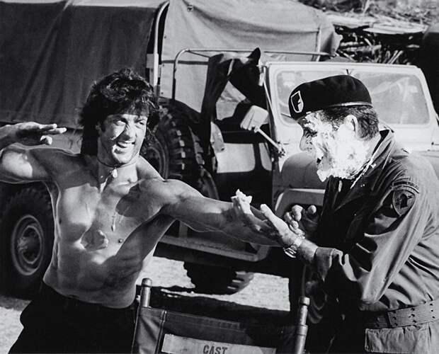 Редкие фото со съёмок знаменитых голливудских фильмов