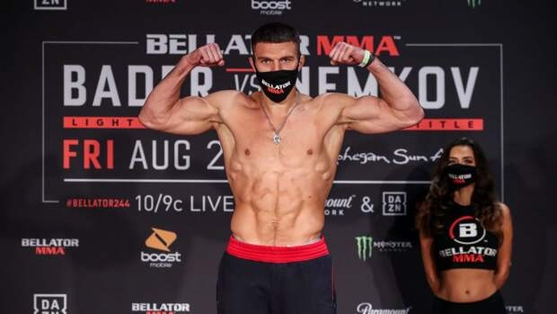 Россиянин Немков отстоял титул чемпиона Bellator
