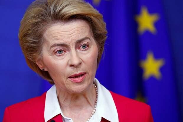 На метле русофобии: почему глава Еврокомиссии так яростно ополчилась на Россию