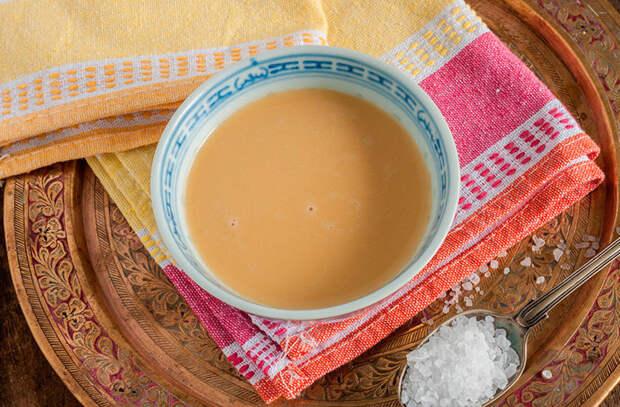 Правда ли, что существует соленый чай?