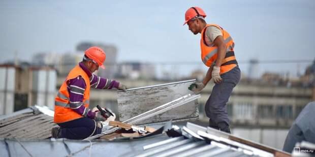 В Ростокине отремонтируют крыши 14 домов