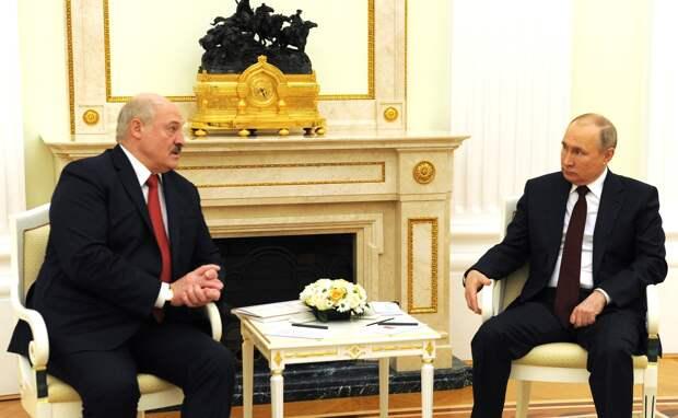 Встреча Путина и Лукашенко обошлась без сенсаций вопреки ожиданиям