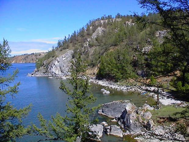 озеро Байкал остров Ольхон