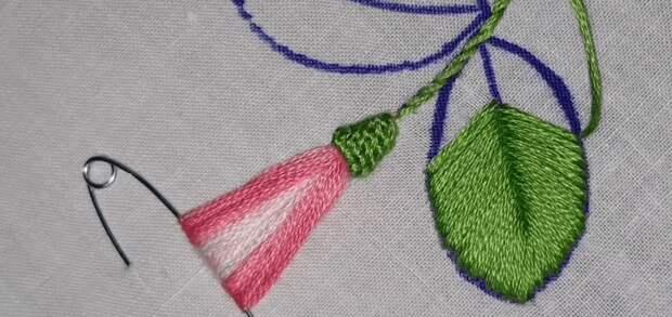 Отличная идея необычной вышивки: простая техника — шикарный результат