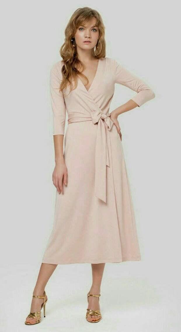 Простые выкройки платья с запахом