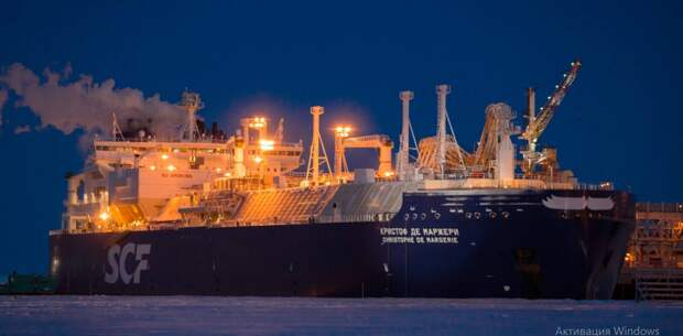 Впервые российский газовоз прошел Северный морской путь в январе