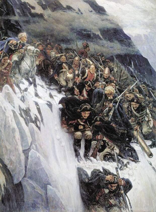 «Всё перенесем, не посрамим русского оружия! А если падем, то умрем со славою!» Швейцарский поход Суворова