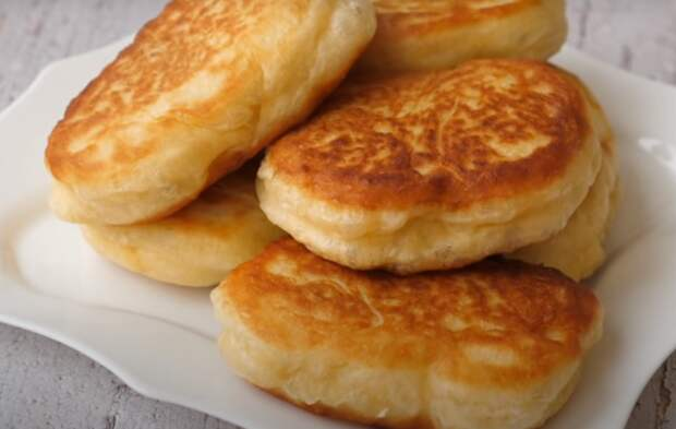 Домашние пирожки с картошкой