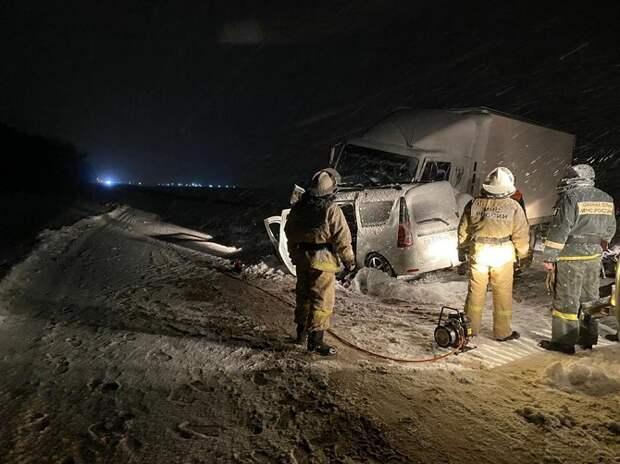 В Усть-Лабинском районе в ДТП погибли четыре человека