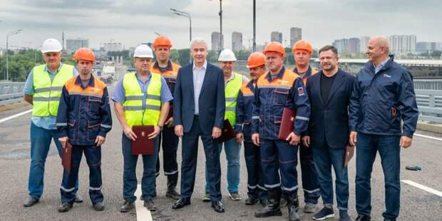 В рамках строительства Юго-Восточной хорды выполнено порядка 40% запланированных работ. Фото: В. Новиков mos.ru