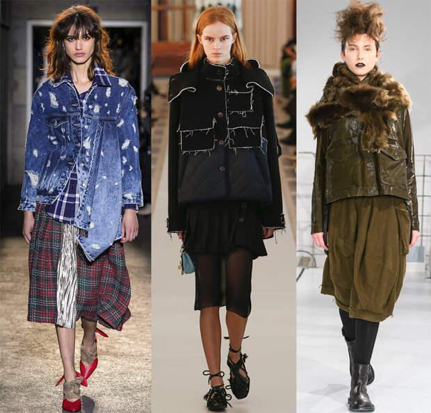 Модные женские куртки 2018-2019