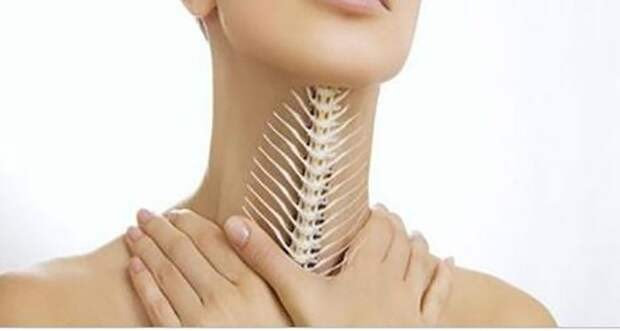 Рыбная кость в горле: симптомы и способы удаления