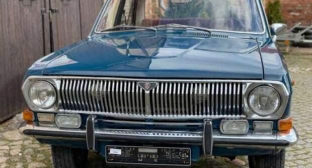 В Германии за 8,5 тыс. евро продают ГАЗ-24 «Волга» 1983 года выпуска
