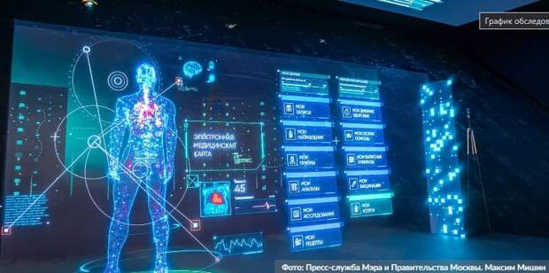 Москва расширяет эксперимент по внедрению технологий искусственного интеллекта в здравоохранении/Фото: М. Мишин mos.ru