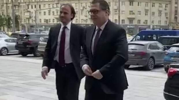 Посол Чехии прибыл в МИД России