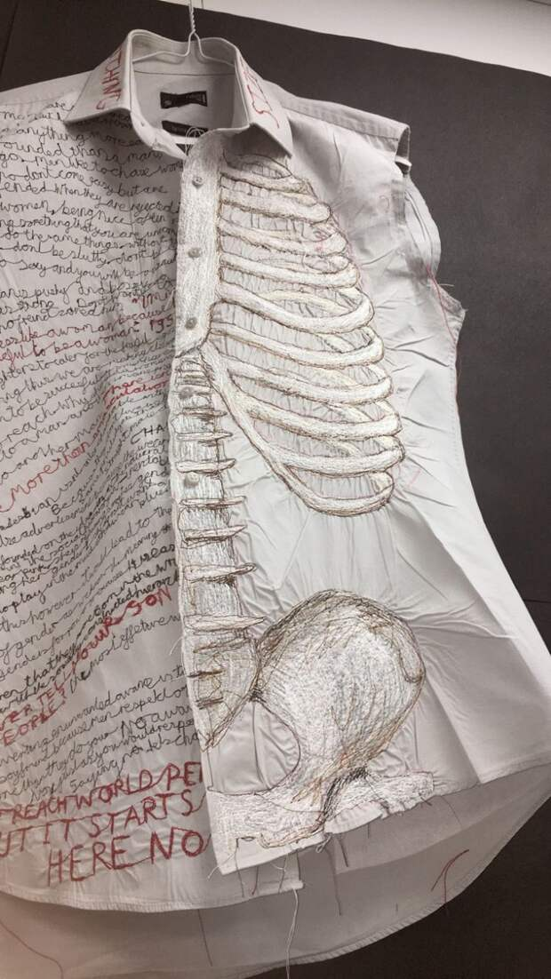Скелетная блузка