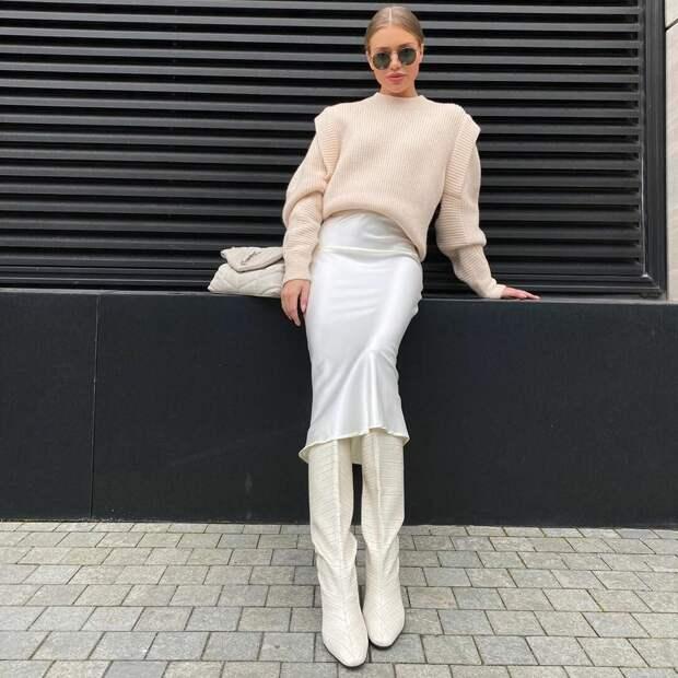 Какие свитера будут носить стильные модницы осенью 2020