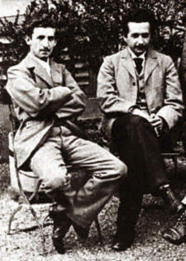 Marcel_Grossman_Albert_Einstein