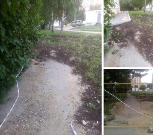 Благоустройство на улице Полины Осипенко завершится до 20 августа — управа