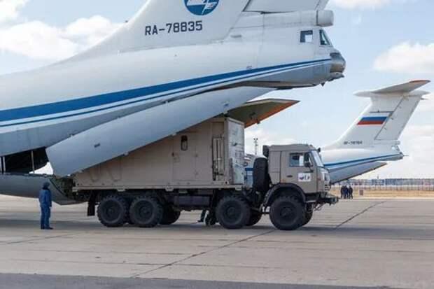 Россия существенно помогает Италии в борьбе с коронавирусом
